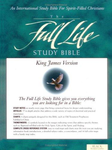 Download KJV Full Life Study Bible, The