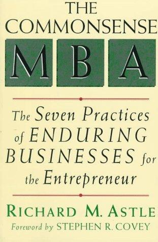 The commonsense MBA