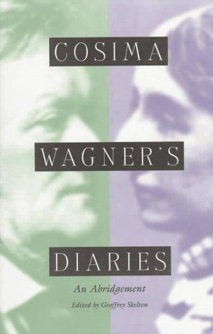 Download Cosima Wagner's diaries