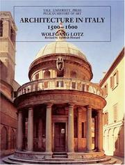 Architecture In Italy, 1500-1600 PDF Download