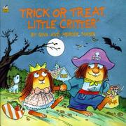 Trick or Treat Little Critter Cover