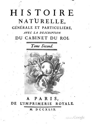 Download Histoire naturelle