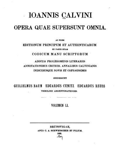 Opera quae supersunt omnia.