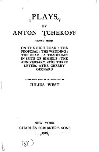 Download Plays by Anton Tchekoff.