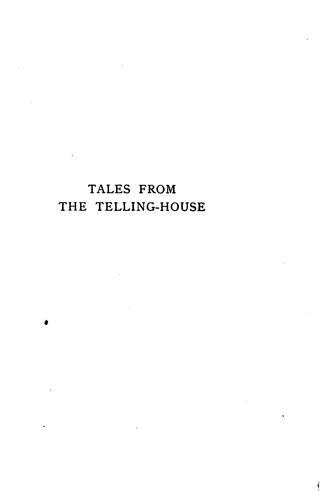 Tales from the telling-house by R. D. Blackmore