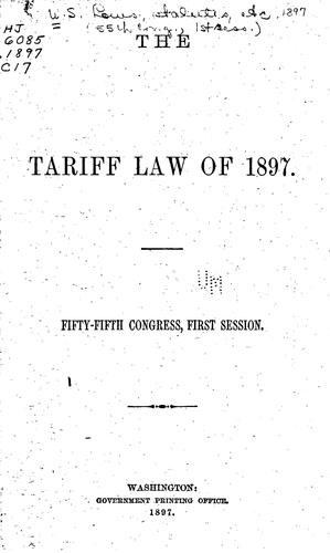 Download The Tariff Law of 1897