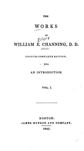 Download The works of William E. Channing