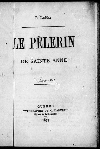 Le pèlerin de Sainte-Anne