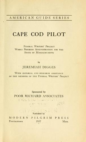 Cape Cod pilot