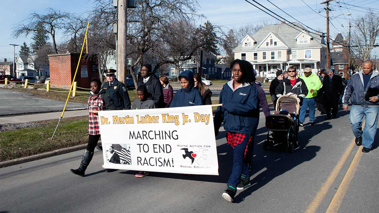 Martin Luther King Jr. March held in Newark on Monday (photo)