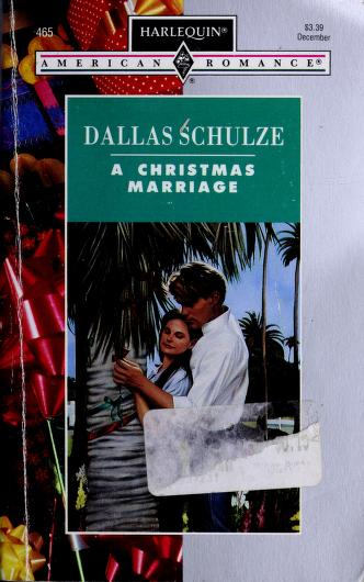 Cover of: Christmas Marriage | Dallas Schulze