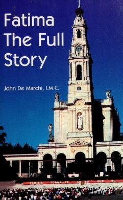 Cover of: Fatima   Joao de Marchi