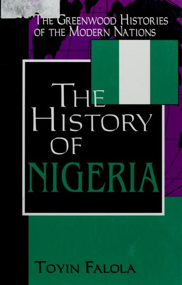 A history of Nigeria by