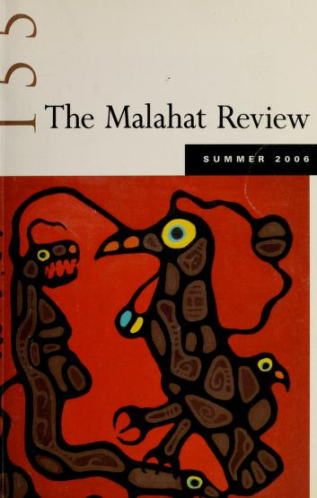 The Malahat review by University of Victoria (B.C.)