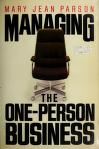 Cover of: Managing the one-person business