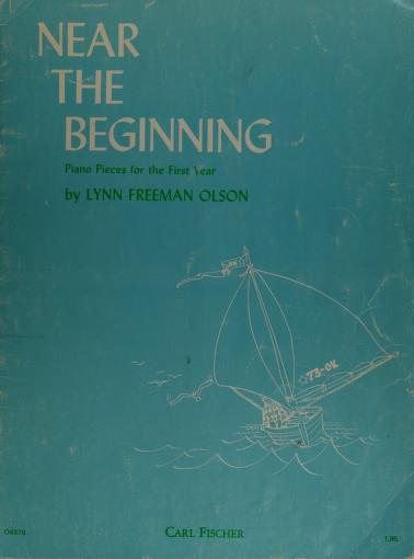 Near the beginning by Lynn Freeman Olson