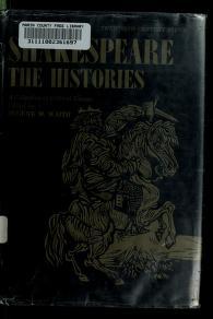 Cover of: Shakespeare: the histories   Eugene M. Waith