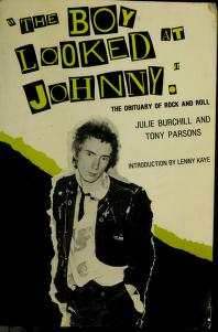 """Cover of: """"The boy looked at Johnny"""" 