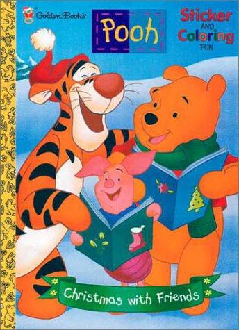 Pooh Christmas With Friends by Golden Books