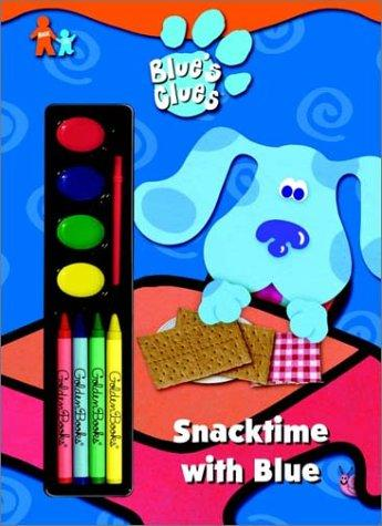 Snacktime with Blue (Paint Box Book) by Golden Books