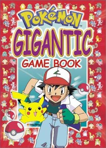 Pokemon Gigantic Game Book (Large Game Book) by Golden Books
