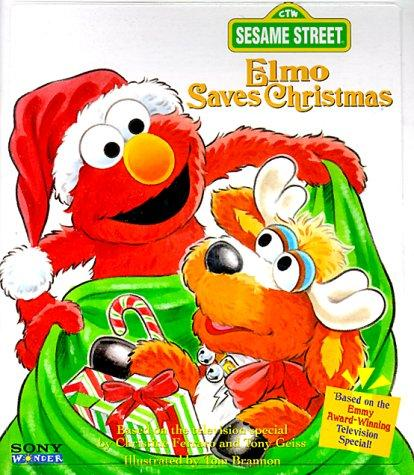 Elmo Saves Christmas by Golden Books