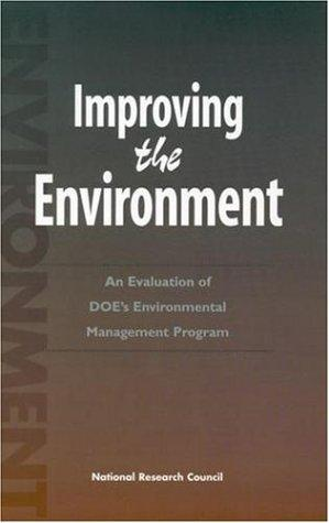 Improving the Environment by National Research Council.