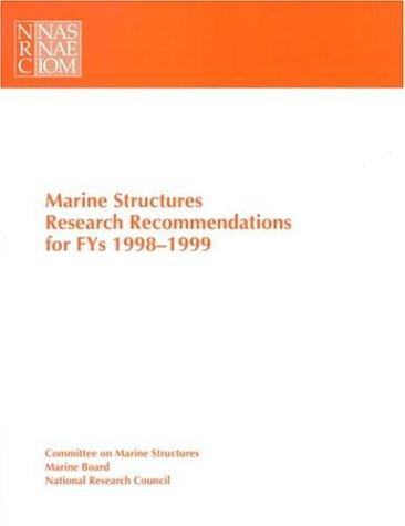 Marine Structures Research Recommendations by National Research Council.
