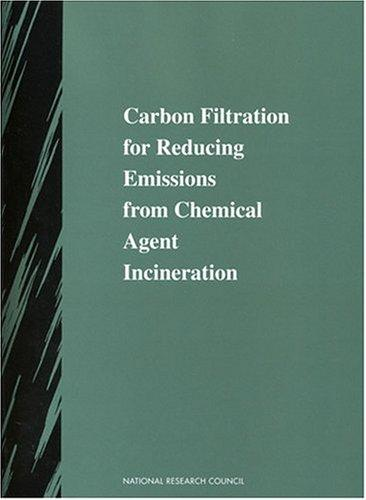 Carbon Filtration for Reducing Emissions from Chemical Agent Incineration (Compass Series (Washington, D.C.).) by National Research Council.