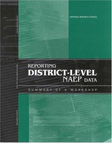 Reporting District-Level NAEP Data by National Research Council.