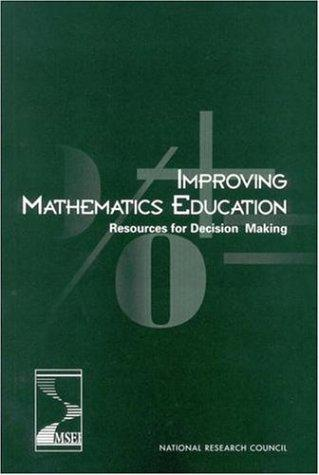 Improving Mathematics Education by National Research Council.
