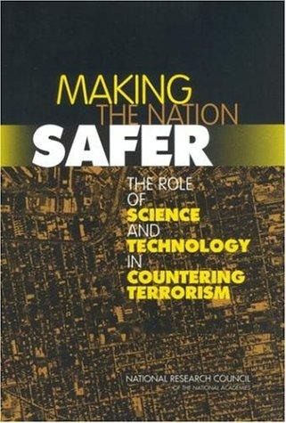 Making the Nation Safer by National Research Council.