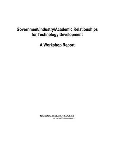 Government/Industry/Academic Relationships for Technology Development by National Research Council.