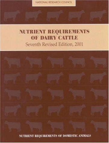 Nutrient Requirements of Dairy Cattle by National Research Council.