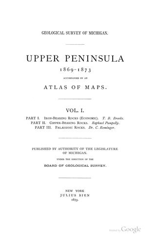 Iron-bearing rocks (economic) [of the upper peninsula of Michigan] by T. B. Brooks