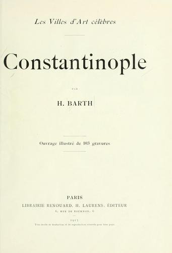 Constantinople by Hermann Barth